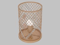 Una lampada da tavolo Casablanca (1026-1T)