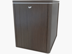Chest of drawers with a blind door (461-33)