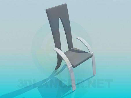modelo 3D Silla moderna - escuchar