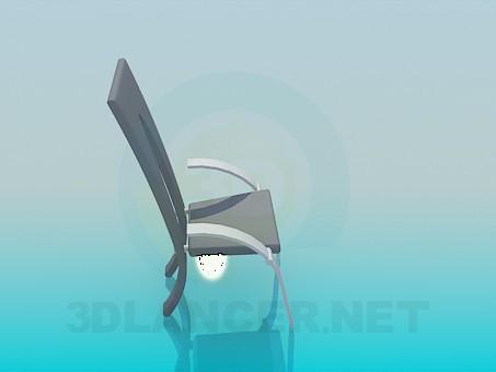 3d модель Современный стул – превью