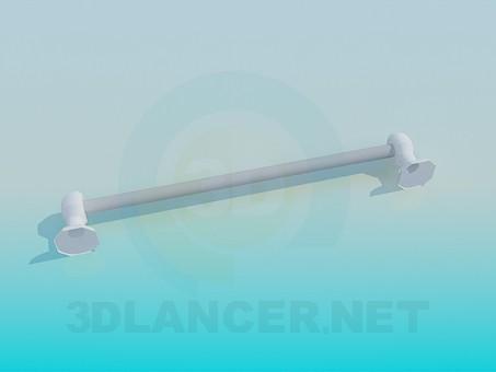 modelo 3D Estante de toalla - escuchar