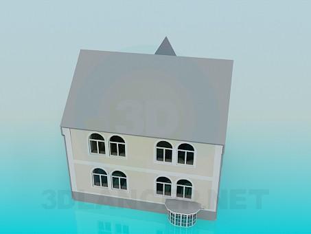 descarga gratuita de 3D modelado modelo Casa
