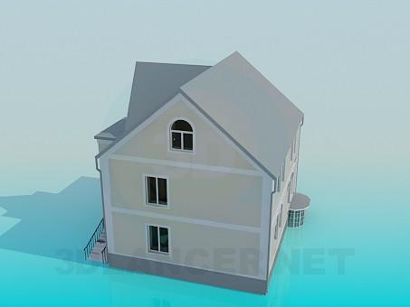 modelo 3D Casa - escuchar