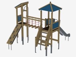 Complesso di giochi per bambini (K1204)
