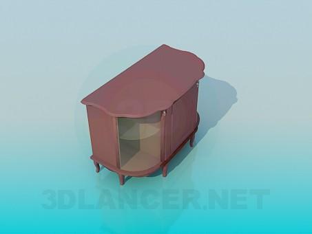 3d модель Підставка під ТВ – превью