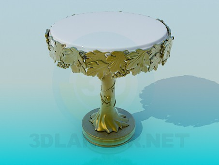 3d model Table for decoration - preview