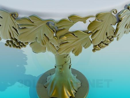 modelo 3D Mesa para la decoración - escuchar