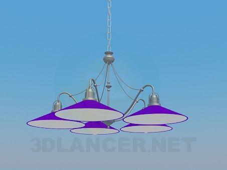 descarga gratuita de 3D modelado modelo Lámpara