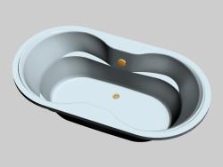 Oval bath Arnica (185 x 100)