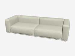 Sofa geraden triple Beverly