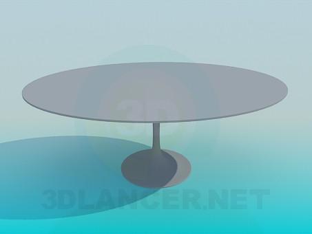 3D Modell Couchtisch - Vorschau