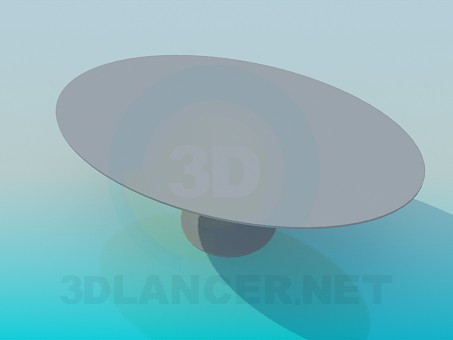 modelo 3D Mesa de centro - escuchar