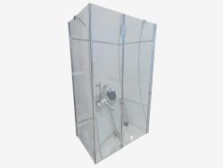 Cabina rectangular 80x120 cm Abelia (KTA 044P)