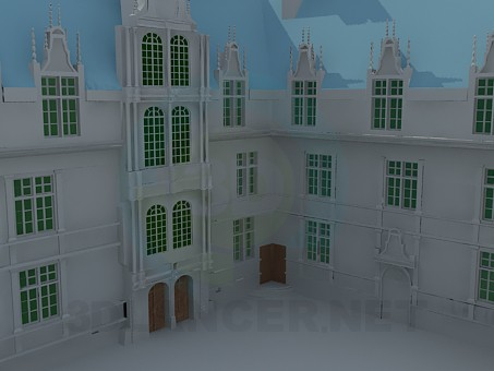 3d modeling Palace model free download