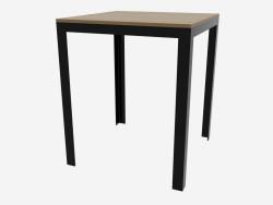 Dining table (dark 63x63)