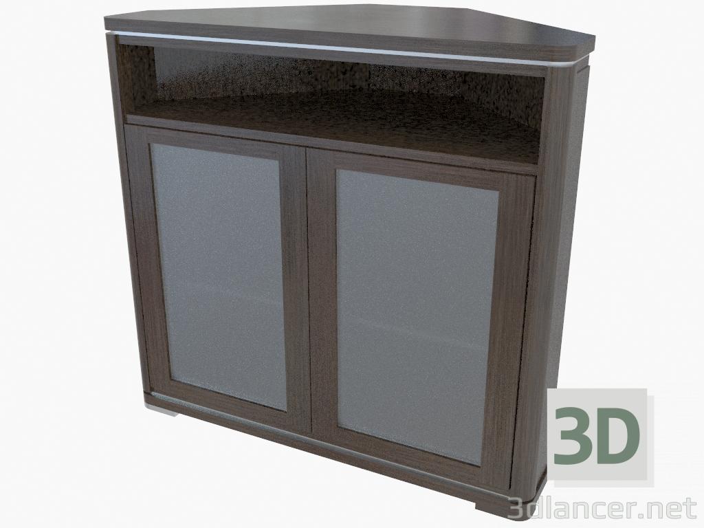 3d model Armario de esquina (472-30) - vista previa