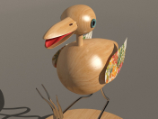 Птица сувенир