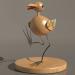 3d modeling Bird souvenir model free download