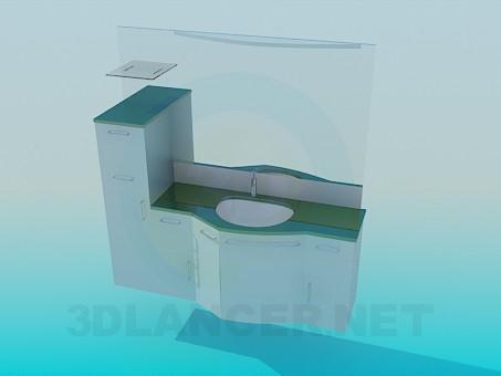 modelo 3D Lavabo - escuchar