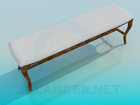3d model Bench software - preview