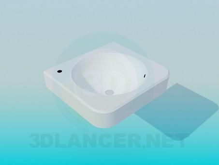 3d модель Маленький умывальник – превью