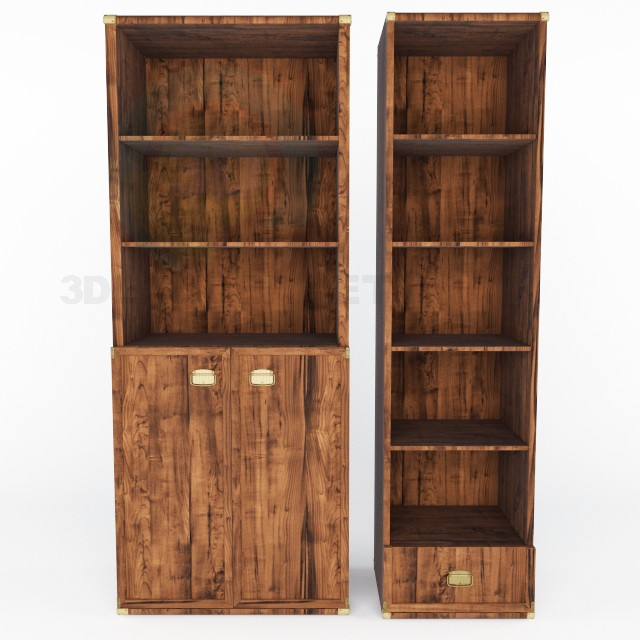 3d model Shelves Indiana BRW - preview