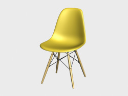 Stuhl Eames Plastic Side Chair DSW