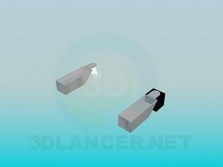 modelo 3D Lámparas de pared - escuchar