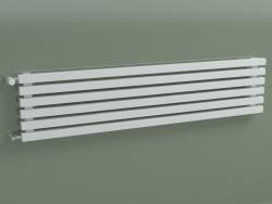 Radiateur horizontal RETTA (6 sections 1500 mm 40x40, blanc brillant)