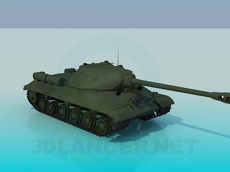 3d модель IS-3 – превью