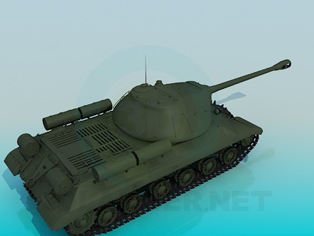 3d model IS-3 - preview