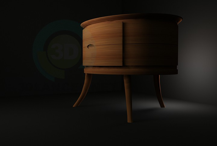 3d model Cupboard from the Ceccotti - preview