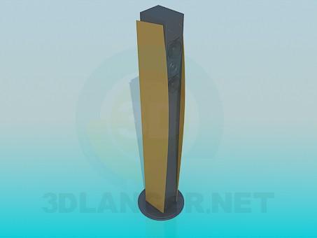 3d модель Колонка – превью
