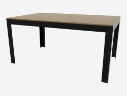 Dining table (dark 160h100)