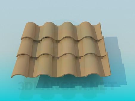 3d model Azulejo de - vista previa