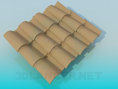 3d model Tile - preview