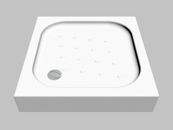 Square tray 80 cm Corner (KTC 042B)