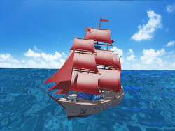 "Sailboat ""The Secret"""
