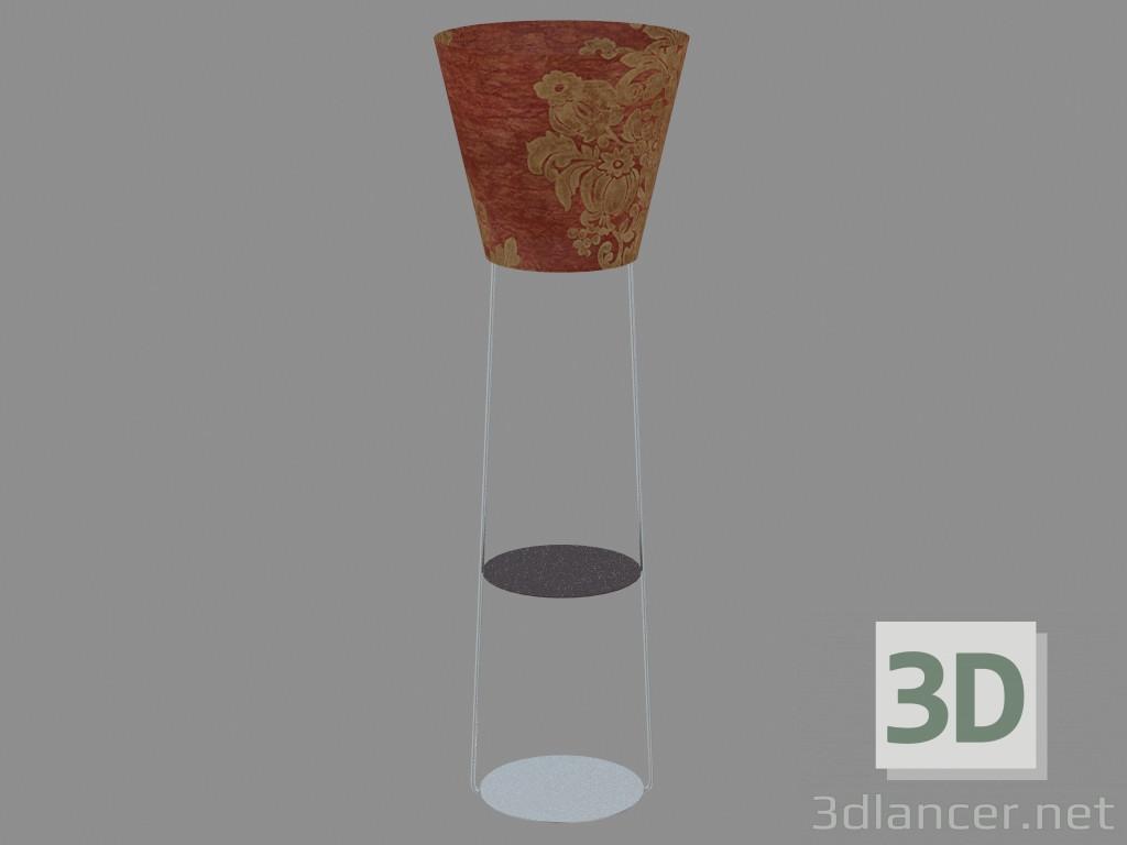 3d моделирование Торшер Санрайз модель скачать бесплатно