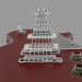 3d Les Paul Guitar model buy - render