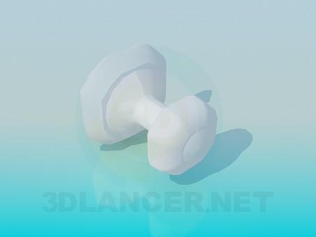 3d моделирование Вешалка для полотенца модель скачать бесплатно