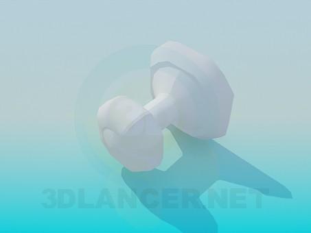3d модель Вішак для рушника – превью