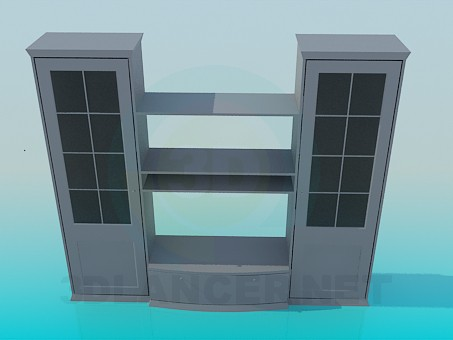 3d modeling Cabinet model free download