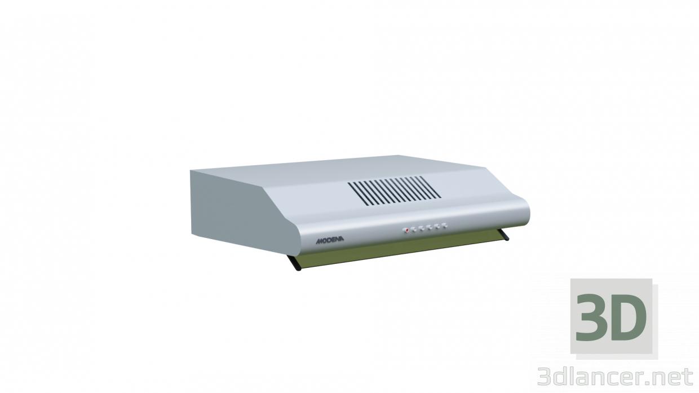 3 डी मॉडल कुकर हुड मोडेना फ्रेस्को - एसएक्स 6501 वी - पूर्वावलोकन