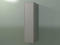Wall cabinet with 1 door (8BUBEDD01, 8BUBEDS01, Clay C37, L 36, P 36, H 144 cm)