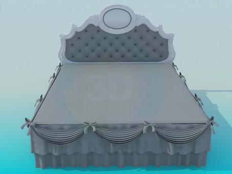 modello 3D Letto - anteprima