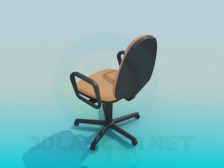 modelo 3D Silla para mesa de ordenador - escuchar