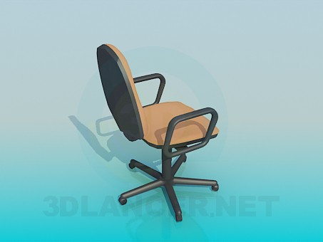 3d model Chair for computer table - preview