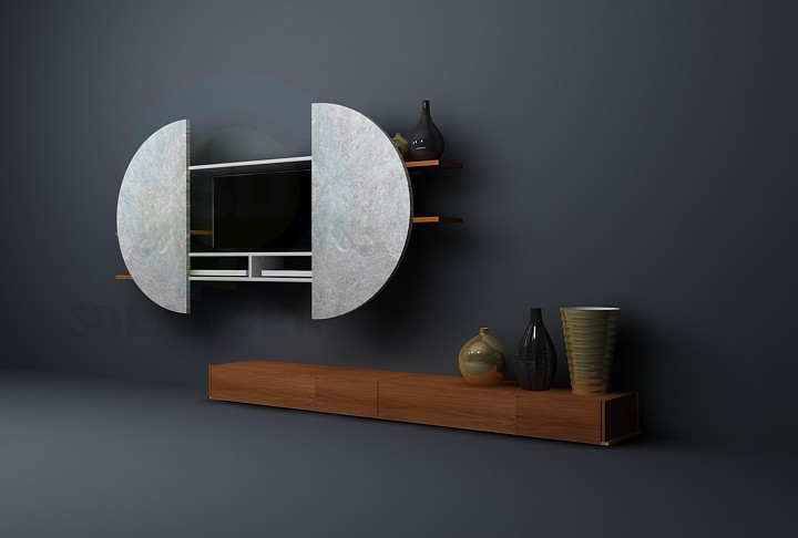 3d model For TV from veneran - preview