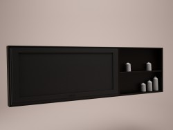 Shelf for TV on the wall